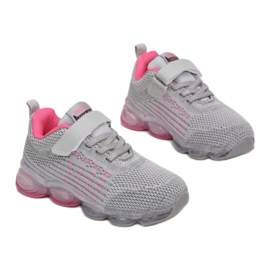 Vices 3XC8078-LED-197-grey/fushia różowe szare 2