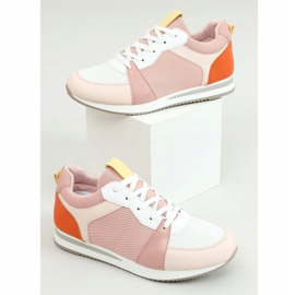 Buty sportowe wielokolorowe B0-546 Pink 1