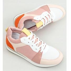 Buty sportowe wielokolorowe B0-546 Pink 2