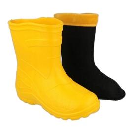 Befado obuwie dziecięce kalosz- żółty 162P107 żółte 1