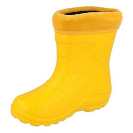 Befado obuwie dziecięce kalosz- żółty 162P107 żółte 2