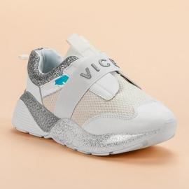 Wsuwane Buty Sportowe VICES białe 2