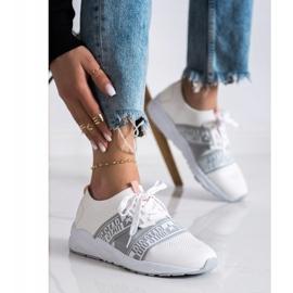 Sneakersy Damskie Big Star HH274355 białe 3