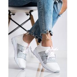 Sneakersy Damskie Big Star HH274355 białe 2