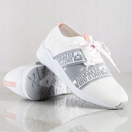 Sneakersy Damskie Big Star HH274355 białe 1