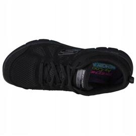 Buty Skechers Flex Appeal 2.0 Simplistic W 12761-BBK czarne 2