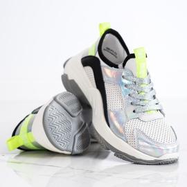 Goodin Ażurowe Sneakersy Ze Skóry wielokolorowe 3