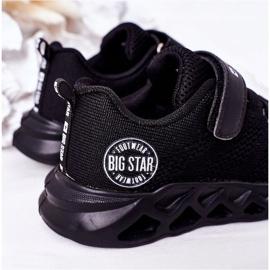 Dziecięce Sportowe Buty Sneakersy Big Star HH374184 Czarne 6