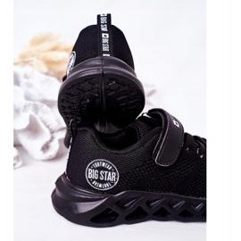 Dziecięce Sportowe Buty Sneakersy Big Star HH374184 Czarne 1