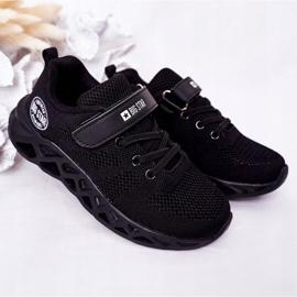 Dziecięce Sportowe Buty Sneakersy Big Star HH374184 Czarne 2