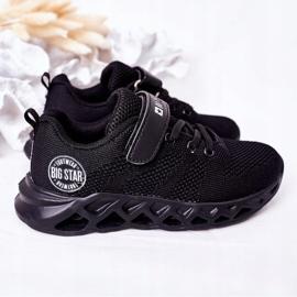 Dziecięce Sportowe Buty Sneakersy Big Star HH374184 Czarne 5