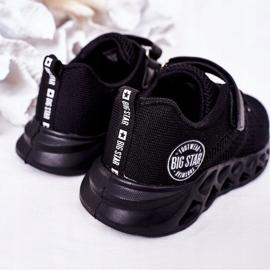 Dziecięce Sportowe Buty Sneakersy Big Star HH374184 Czarne 7