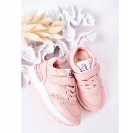 Apawwa Dziecięce Sportowe Buty Sneakersy Różowe Skatepark 4