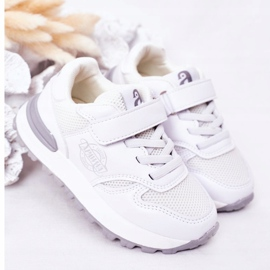 Apawwa Dziecięce Sportowe Buty Sneakersy Białe Skatepark 2