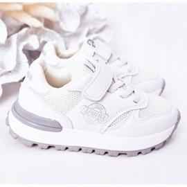 Apawwa Dziecięce Sportowe Buty Sneakersy Białe Skatepark 4