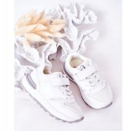 Apawwa Dziecięce Sportowe Buty Sneakersy Białe Skatepark 1