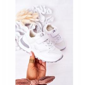 Apawwa Dziecięce Sportowe Buty Sneakersy Białe Skatepark 3