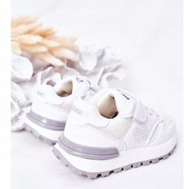 Apawwa Dziecięce Sportowe Buty Sneakersy Białe Skatepark 5