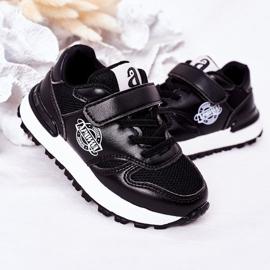 Apawwa Dziecięce Sportowe Buty Sneakersy Czarne Skatepark 4