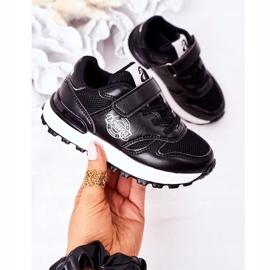 Apawwa Dziecięce Sportowe Buty Sneakersy Czarne Skatepark 3
