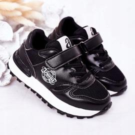 Apawwa Dziecięce Sportowe Buty Sneakersy Czarne Skatepark 2