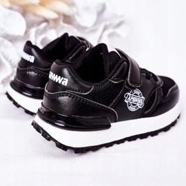 Apawwa Dziecięce Sportowe Buty Sneakersy Czarne Skatepark 5