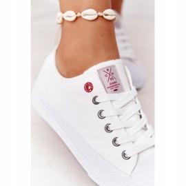 Damskie Trampki Cross Jeans HH2R4017C Białe 4