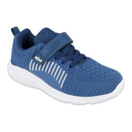 Befado obuwie dziecięce  516X063 niebieskie 1
