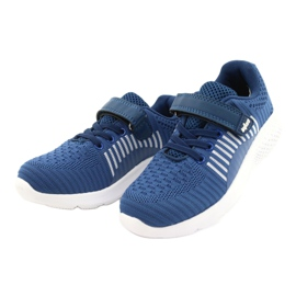 Befado obuwie dziecięce  516X063 niebieskie 2