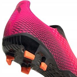 Buty piłkarskie adidas X Ghosted.3 Ll Fg FW6968 różowe różowe 4