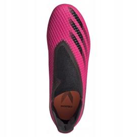 Buty piłkarskie adidas X Ghosted.3 Ll Fg Jr FY7281 różowe różowe 2