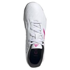 Buty piłkarskie adidas Copa Sense.3 Fg Jr FX1986 granatowy, biały, różowy białe 2