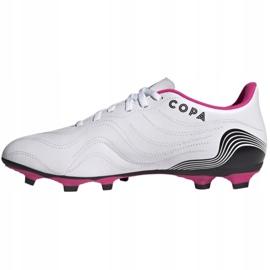 Buty piłkarskie adidas Copa Sense.4 FxG M FW6536 wielokolorowe białe 1