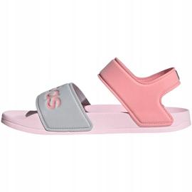 Sandały dla dzieci adidas Adilette Sandal K szaro-różowe FY8849 1
