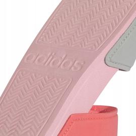 Sandały dla dzieci adidas Adilette Sandal K szaro-różowe FY8849 5