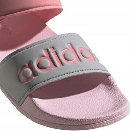 Sandały dla dzieci adidas Adilette Sandal K szaro-różowe FY8849 4