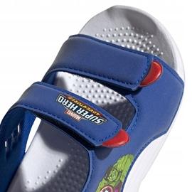 Sandały dla dzieci adidas Swim Sandal I niebieskie FY8958 4