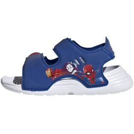 Sandały dla dzieci adidas Swim Sandal I niebieskie FY8958 1