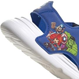 Sandały dla dzieci adidas Swim Sandal I niebieskie FY8958 6