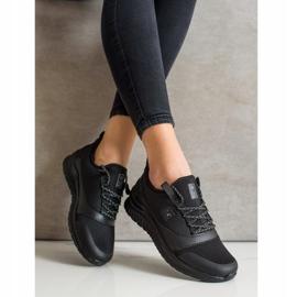 SHELOVET Lekkie Sportowe Sneakersy czarne 3