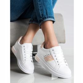 SHELOVET Casualowe Sneakersy białe 1