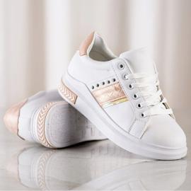 SHELOVET Casualowe Sneakersy białe 2