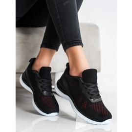 Bona Lekkie Czarne Sneakersy 2