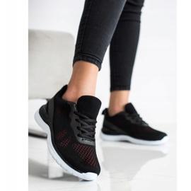 Bona Lekkie Czarne Sneakersy 3