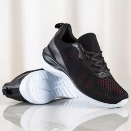 Bona Lekkie Czarne Sneakersy 1
