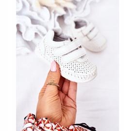 Apawwa Dziecięce Sportowe Buty Białe Billie 2