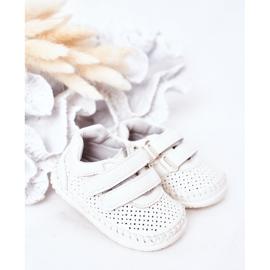 Apawwa Dziecięce Sportowe Buty Białe Billie 1