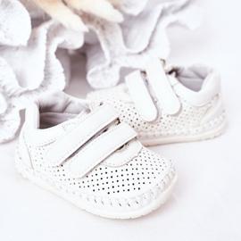 Apawwa Dziecięce Sportowe Buty Białe Billie 3