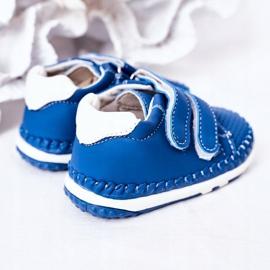 Apawwa Dziecięce Sportowe Buty Niebieskie Billie 1