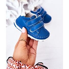 Apawwa Dziecięce Sportowe Buty Niebieskie Billie 3